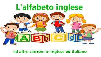 V - L'alfabeto inglese ed altre canzoni in inglese ed italiano #Canzonibambini e Musica per bambini