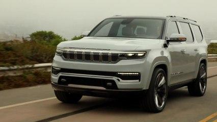 Le retour du Wagoneer en tant que prolongation haut de gamme de la marque Jeep