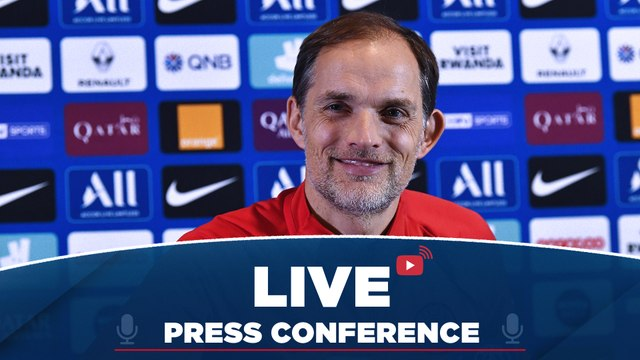 Replay : Conférence de Presse de Thomas Tuchel avant RC Lens - Paris Saint-Germain