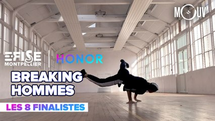Top 8 Breaking Pro Hommes | E-FISE Montpellier by Honor