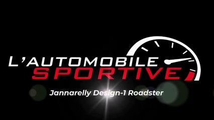 Jannarelly Design-1 Roadster (2020) - 3L5 V6 engine start