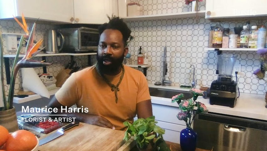 BEYONCE'S Florist, MAURICE HARRIS, Shows You How To Make The EASIEST Healthy Smoothie | Bustle