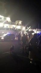 Detienen en La Palma a los tres ocupantes de un velero cargado de droga