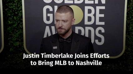 Justin Timberlake Gets Involved With MLB