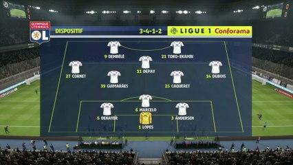 FIFA 20 : notre simulation de Bordeaux - OL (L1 - 2e journée)
