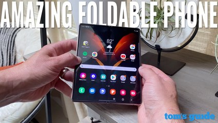 Galaxy Z Fold 2 review: A truly amazing foldable phone