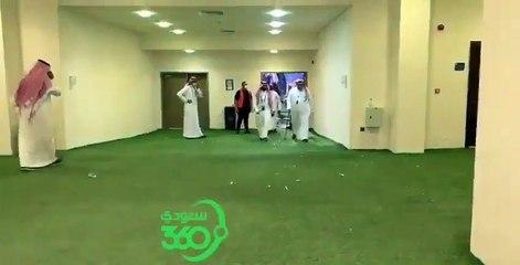 الأمير عبدالرحمن بن مساعد @abdulrahman ومباركة للجماهير الهلاليه @a alshniber