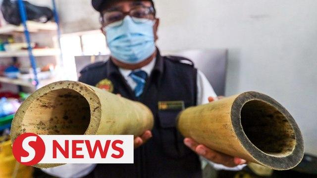 Authorities shut down famous bamboo briyani's dirty kitchen