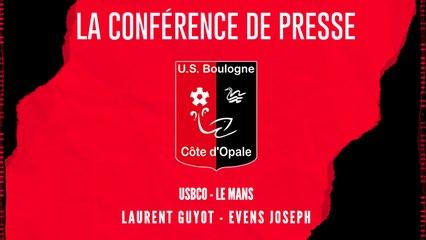 [NATIONAL] J5 Conférence de presse avant match USBCO - Le Mans