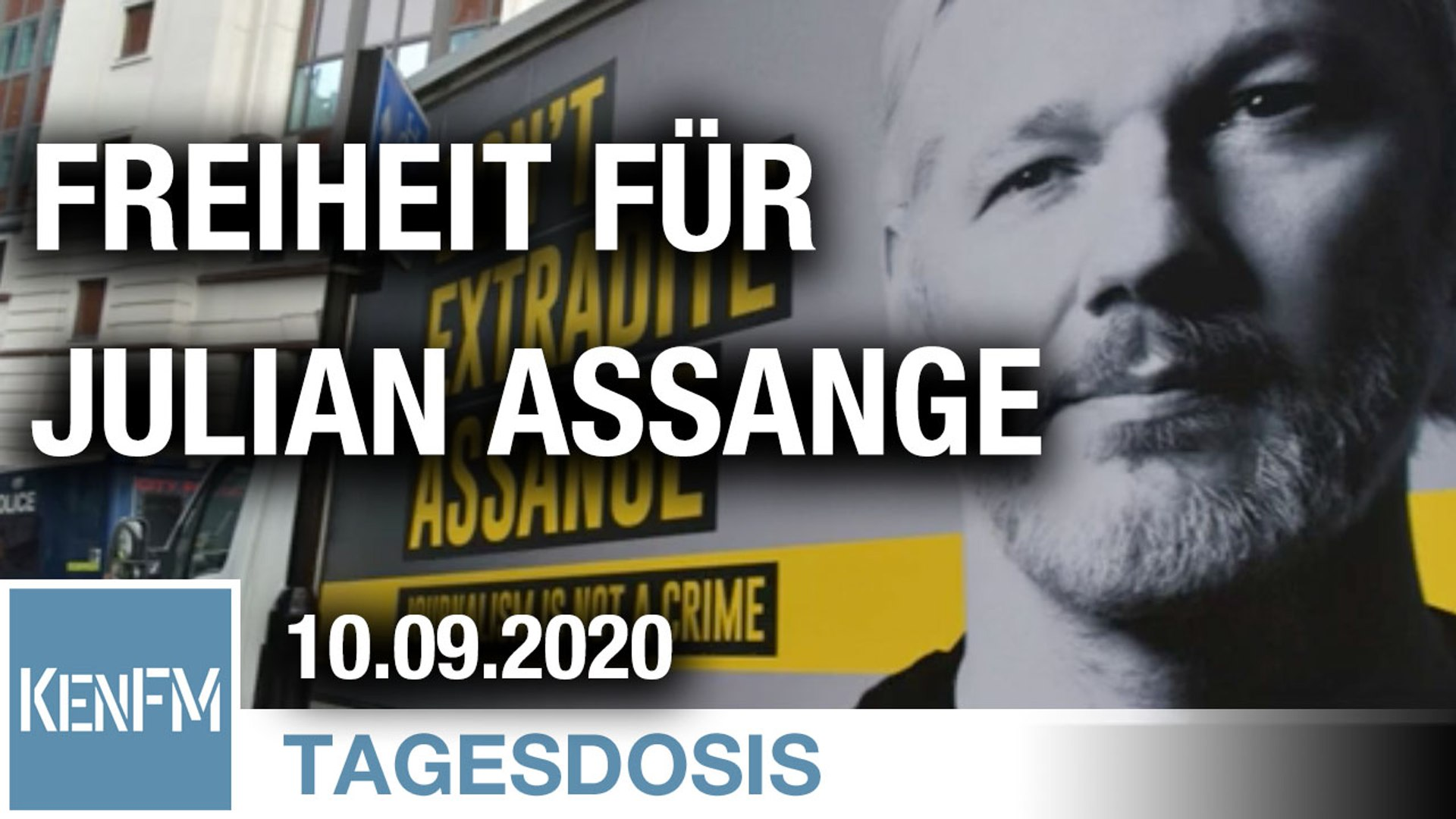 Freiheit für Julian Assange - Free Assange, now | Von Bernhard Loyen