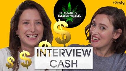 FAMILY BUSINESS : Interview CA$H de Julia Piaton et Louise Coldefy