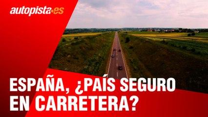 España, ¿uno de los países más seguros en carretera?