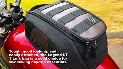 SW-Motech Legend LT1 Magnetic Tank Bag Review