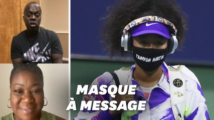 Naomi Osaka émue par les messages de parents de victimes de crimes racistes