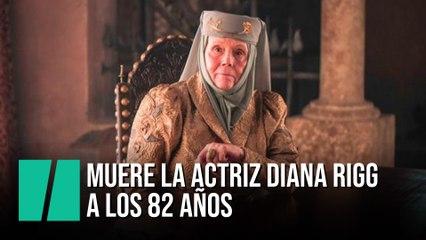 Muere la actriz Diana Rigg a los 82 años