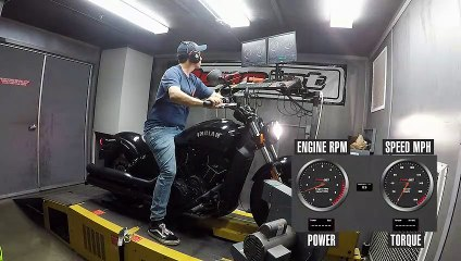 2020 Indian Scout Bobber Sixty Dyno