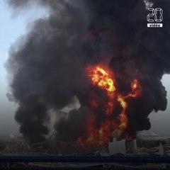Beyrouth : Un gigantesque incendie au port quelques semaines après l'explosion