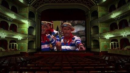 Trailer oficial de la película Palabra de Capitán que trata sobre la figura del carnavalero Juan Carlos Aragón