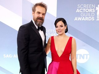 David Harbour Married Lily Allen, and Her Knee-Length Dress Is EVERYTHING