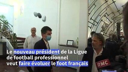 """LFP : """"On doit moderniser le football français"""" - Vincent Labrune"""
