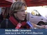 FN - Marine Le Pen et Steeve Briois à Hénin VS PS