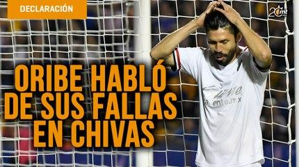 Oribe citó a Jordan para defender a Macías y la falta de gol en Chivas