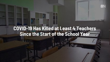 Teachers Have Died