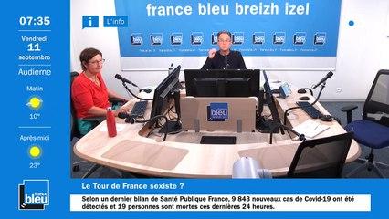 La matinale de France Bleu Breizh Izel du 11/09/2020