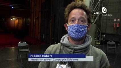 Reportage - Le théâtre de Grenoble s'adapte à la Covid-19 pour sa rentrée 2020