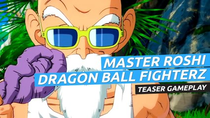 Master Roshi - Dragon Ball FighterZ Teaser