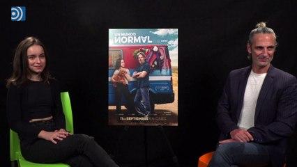 Entrevist a Ernesto Alterio por la película 'Un mundo normal'