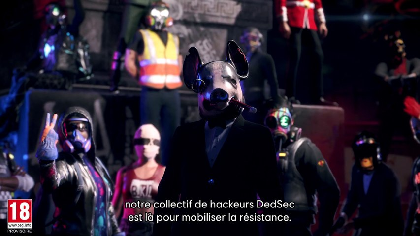 Watch Dogs : Legion - Trailer du recrutement selon DedSec