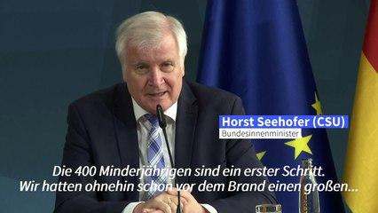Deutschland nimmt bis zu 150 Minderjährige aus dem Lager Moria auf
