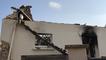 Incendie dans la rue des Capucins à Roscoff