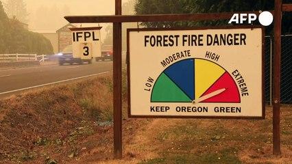 Brände in Oregon: Städte zerstört, Hunderttausende auf der Flucht