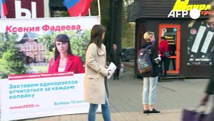 Nawalnys Bewegung hofft auf Wandel bei russischen Regionalwahlen