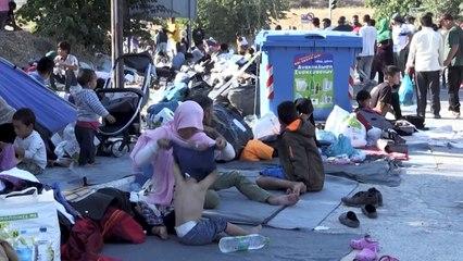 """""""Wir brauchen Hilfe"""": Geflüchtete auf Lesbos auf sich gestellt"""