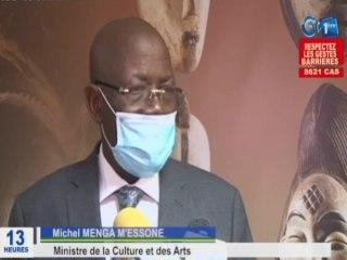 RTG / Audience des artistes Gabonais avec le Ministre de la culture et des arts