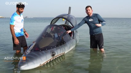 High octane watersports: Inside a submersible Seabreacher
