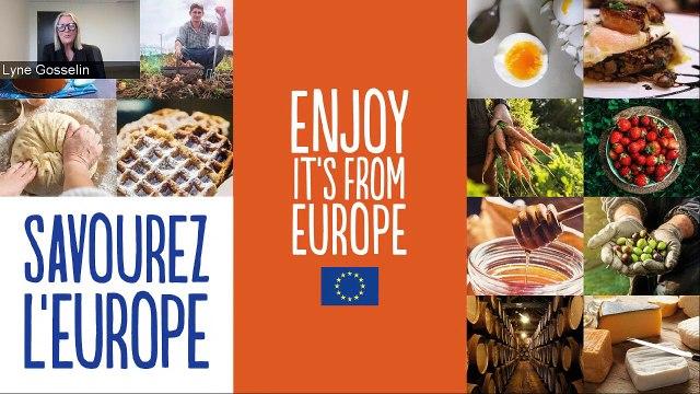 Webinaire | Les produits alimentaires européens : comment en profiter au Canada ?