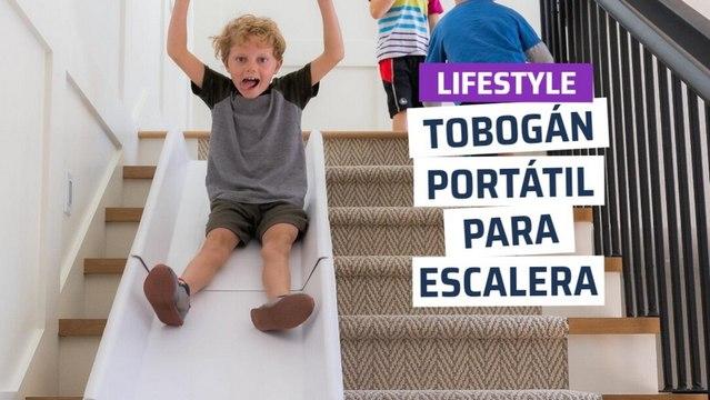 [CH]  Stairslide, tobogán portátil para escaleras