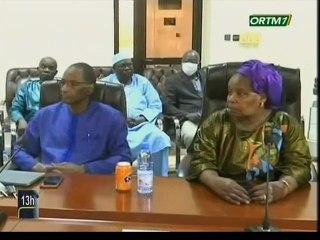 ORTM / Conférence de presse de la Haute Autorité de la Communication