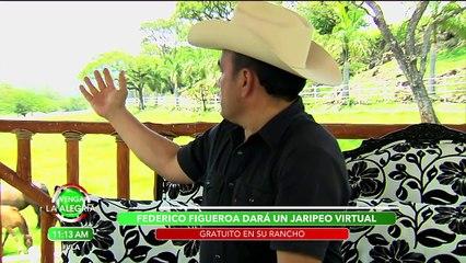Federico Figueroa nos platica de su próximo concierto virtual. | Venga La Alegría