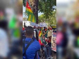 Les Togolais de la diaspora dans les rues ce 11 septembre