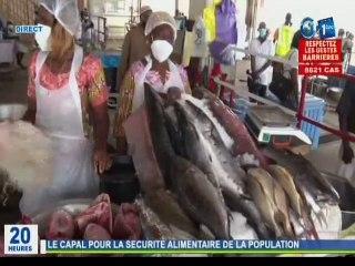 RTG / Visite de l'Ambassadeur du Japon au Gabon du centre d'appel à l'appui à la pêche artisanale
