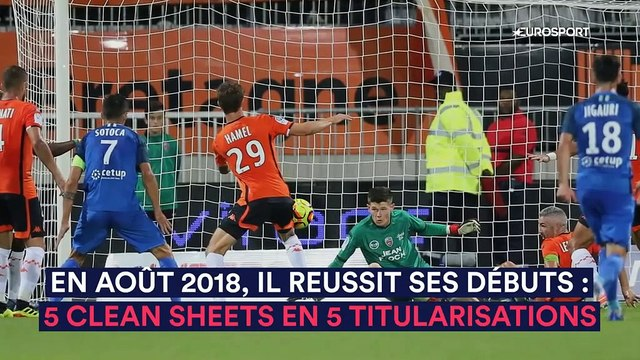 Le physique de Courtois, un talent qui fait saliver l'Europe : Illan Meslier, le rempart de Bielsa