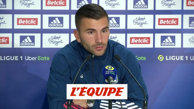 Lopes : «On a des regrets» - Foot - L1 - OL