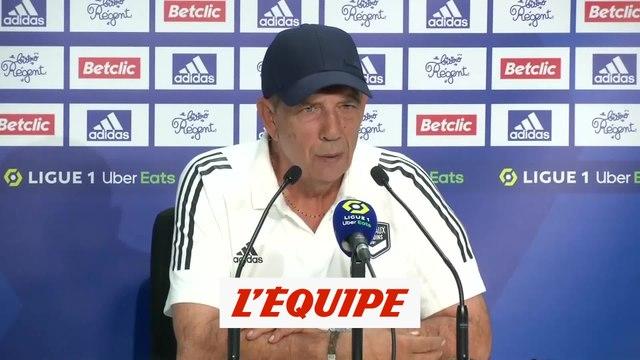 Gasset : «Les joueurs ont tout donné» - Foot - L1 - Bordeaux