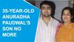 Anuradha Paudwal's son Aditya Paudwal passes away at 35