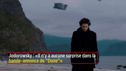 """Jodorowsky : « Il n'y a aucune surprise dans la bande-annonce de """"Dune"""" »"""